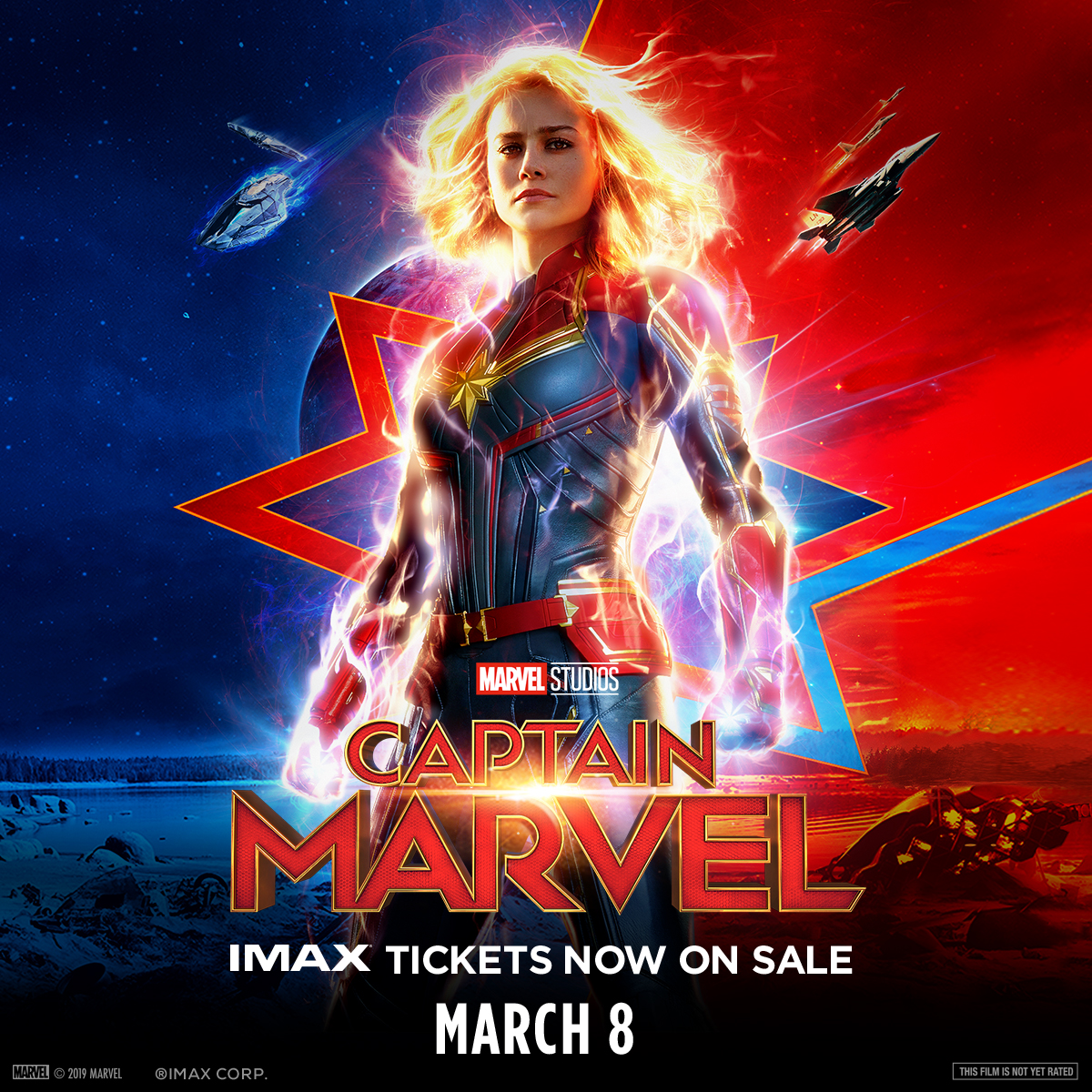 Captain Marvel The Imax Experience Challenger Learning Center Of Tallahassee