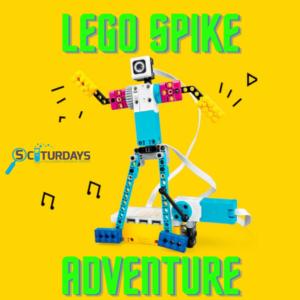 SCIturdays: LEGO Spike Adventure